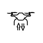 drone icon arrows