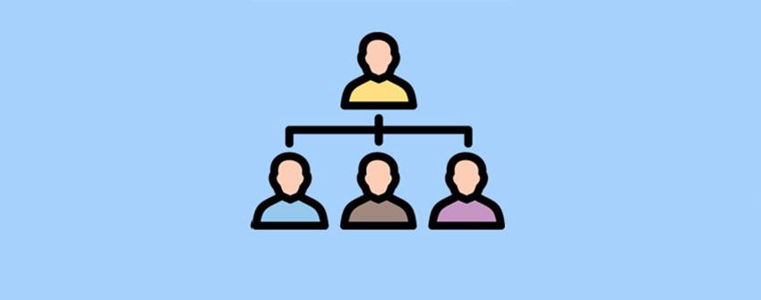 نمودار سازمانی در وردپرس