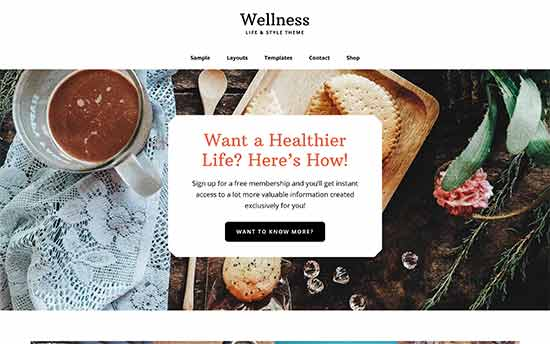 wellness تم