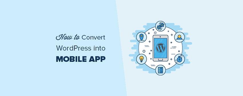 تبدیل یک سایت وردپرس به یک برنامه موبایل